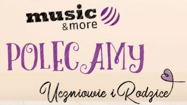 Oferta szkoły Music&More