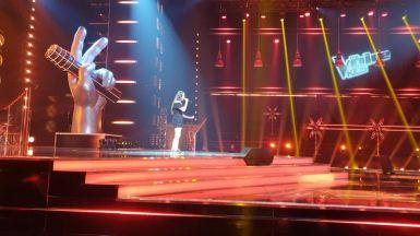 Występ Zuzi Dudek w programie The Voice Kids IV